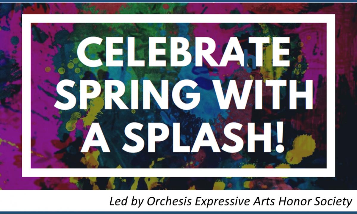 Celebrate Spring with a Splash image