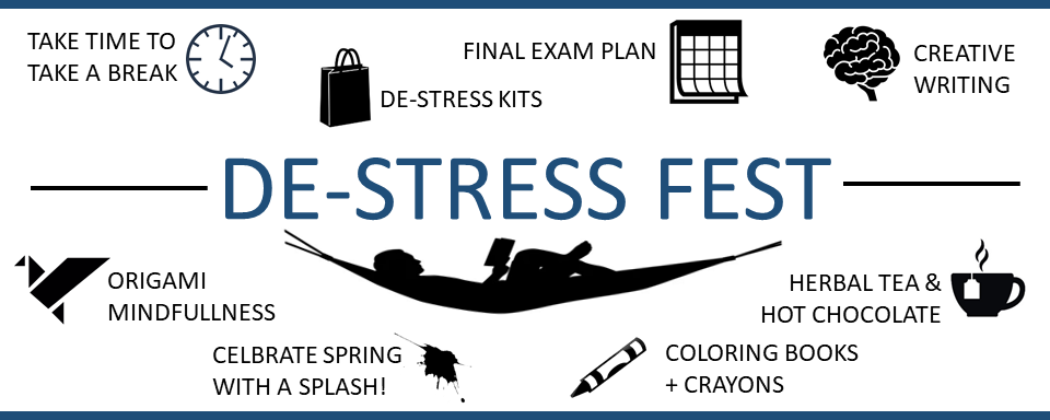De-Stress Fest Logo